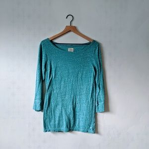 American Eagle XL Bright teal Vintage T
